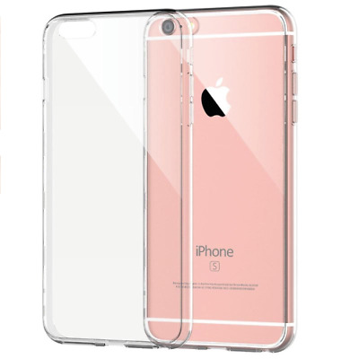 iPhone 6 6s 7 8 PLUS X Case Crystal Clear Soft TPU Lot Gel Shockproof Cover