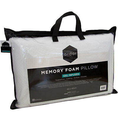 NEW Ardor Gel Infused Memory Foam Pillow - Ardor,Pillows