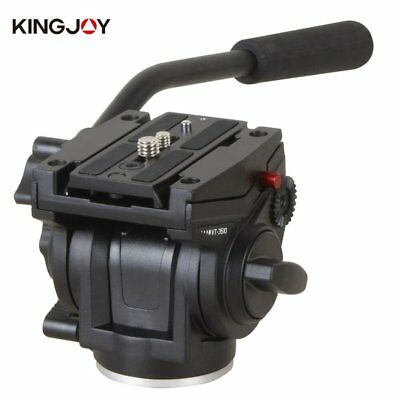 NEW KINGJOY VT-3510 Heavy Duty Video Camera Tripod Action Fluid Drag Head XB