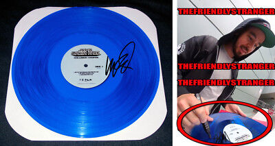 "MIKE SHINODA signed LINKIN PARK ""COLLISION COURSE"" BLUE VINYL Exact Proof - COA"