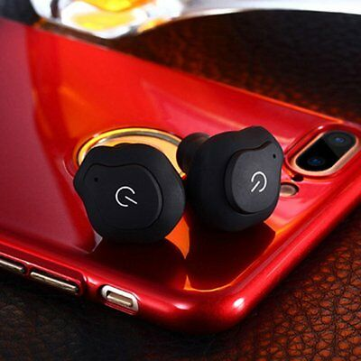TWS Mini Size Wireless Bluetooth Stereo Bass In-Ear Earphone for Smartphones R8