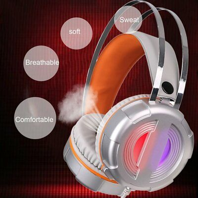 G3 Super Bass Noise Cancealing Headphone with Microphone Colorful LED Light XB
