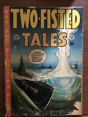 Two Fisted Tales 32 Ec Comics Classic Golden Age Comic