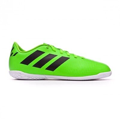 huge discount 27d71 a736c Chaussure de futsal adidas Nemeziz Messi Tango 18.4 IN enfant Solar  green-Black