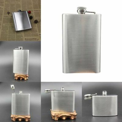Portable 10Size Stainless Steel Hip Flask Flagon Wine Pot Bottle