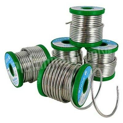 solder wire lead free plumbing solder 2000mm / 2m length 3.2mm + 2 x small flux.
