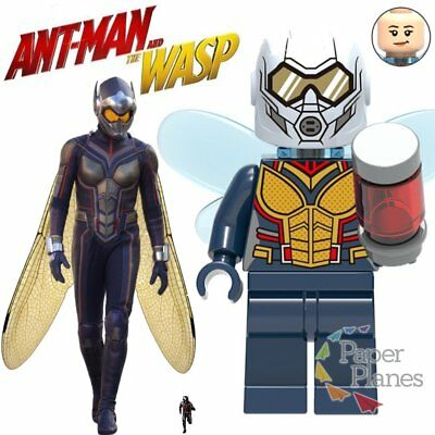 Wasp Maßgeschneidert Minifigur Passt Lego Toy Avengers Ant-man and the Wasp X905