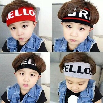 Breathable Sports Headband Toddler Baby Boys Girls Headwear Pattern Hairband