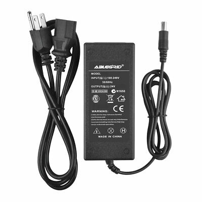 24V AC Adapter For Ep son Perfection V500 V600 Scanner Charger Power Supply Cord