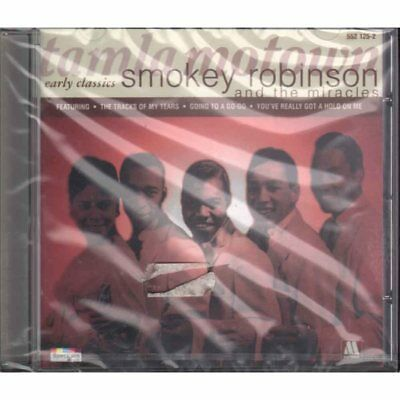 Smokey Robinson and the Miracles CD Early Classics/Spectrum Sealed