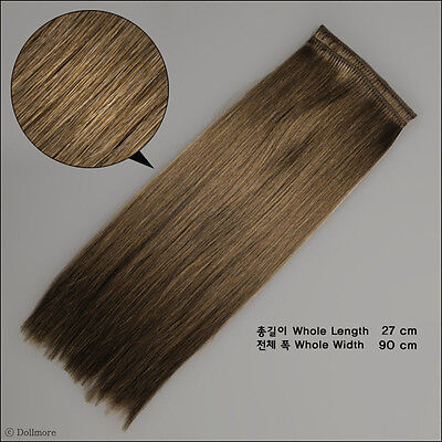 [Dollmore] OOAK BJD DIY Synthetic String Hair - Mohair straight : L.Brown (SM4)
