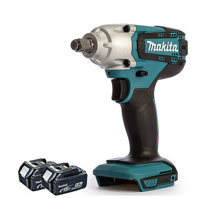 """Makita DTW190Z 18V LXT Li-ion 1/2"""" Square Impact Wrench With 2 x 5.0Ah Batteries"""