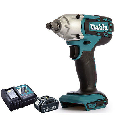 "Makita DTW190Z 18V LXT 1/2"" Impact Wrench With 1 x 5Ah BL1850 Battery & Charger"