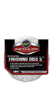 "Meguiar's DA Microfibre Finishing Disc 5"" Twin Pack"
