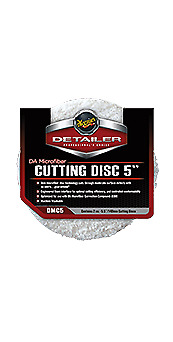 "Meguiars DA Microfibre Cutting Disc 5"" 2 Pack"