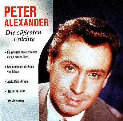 "Peter Alexander "" Die süßesten Früchte "" Top Album! 20 Tracks CD New & orig. Box"