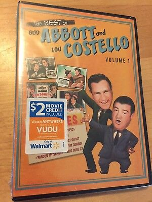 BEST OF BUD ABBOTT LOU COSTELLO VOL 1 New DVD 8 Films Buck Privates Who Done