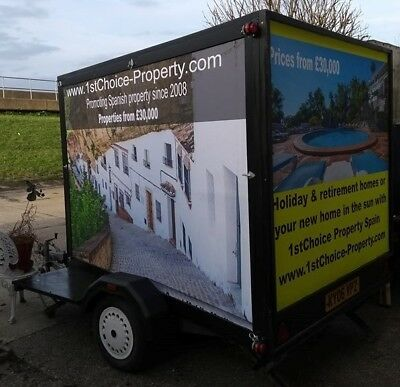advertising trailer 3 sided advertising trailer