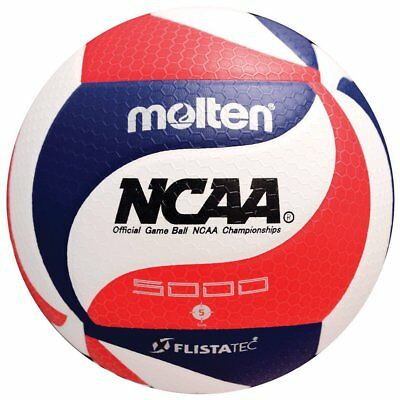 Molten V5M5000-3N Official NCAA Indoor volleyball Premium FLISTATEC®