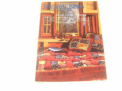 #2360 1985 May  Nutshell News Minatures Magazine For Creators & Collectors