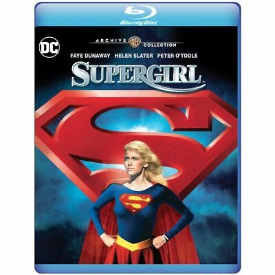 SUPERGIRL THE MOVIE -   -  BLU RAY- Sealed Region free