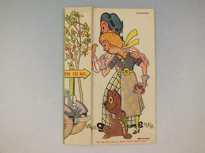 Rare Mechanical Advertising Trade Card For The Ford Universal Credit Co
