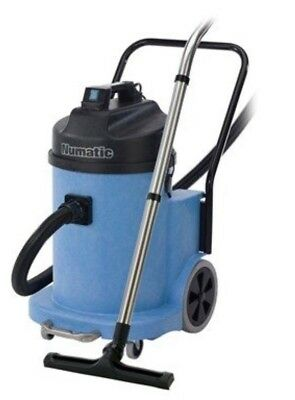 Numatic Industrial Wvd900S-2Hoover Twin Motor Wet Dry Vacuum New Hose Lance 110V