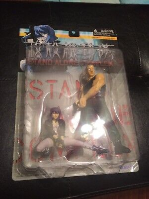 GHOST IN THE SHELL series  Special Figures Motoko Kusanagi & Batou Brand-New