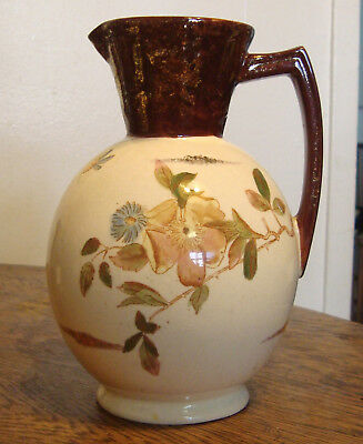 """Antique Christopher Dresser Style Pitcher Aesthetic Movement England 7.5"""""""