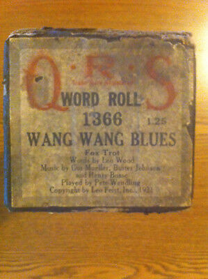 Wang Wang Blues,  Played by Pete Wendling,   QRS Piano Roll
