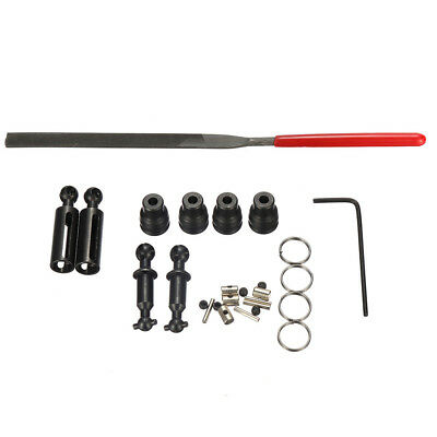 1 Set WPL Upgrade Parts Metal Drive Shaft For 1/16 6WD Crawler Off Road RC Car