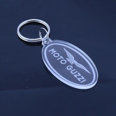 Ducati Motorcycle Badge Keyring Handmade Laser Cut Clear Acrylic Gift
