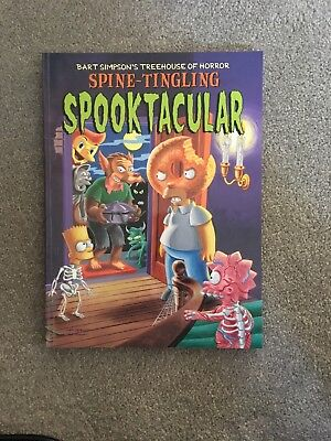 Bart Simpson's Tree House Of Horror Spine-tingling Spooktacular