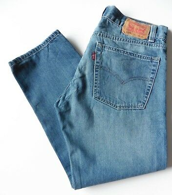 Boys' Men's Levis 505 Straight Leg Jeans W30 L26 Blue Levi Strauss