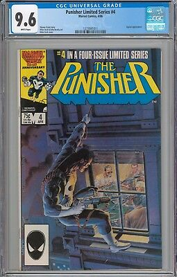 The Punisher Limited Series #4 CGC 9.6 NM+ WHITE PAGES