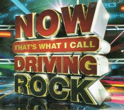 Now That's What I Call Driving Rock  3 CD Box Set New USA Fast Free Shipping