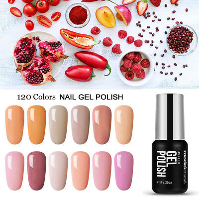 Modelones 120 Color Gel Nail Polish Soak Off Varnish Lacquer Base Top Coat Salon