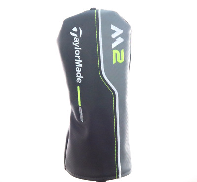 NEW 2017 TaylorMade M2 3,5,7 Wood Black/Gray/Lime Green Fairway Headcover