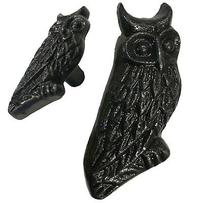"""2.5""""- Brass Owl  - Brass Antique Reproduction Knob Handle-Cabinets Door BB-288"""
