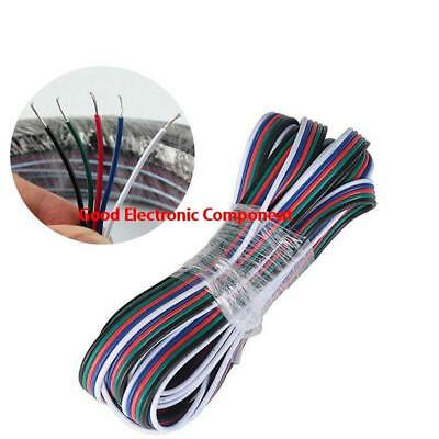 1-100m 5 Pin Extension Connector Wire Cable Cord for RGBW 3528/5050 LED Strip