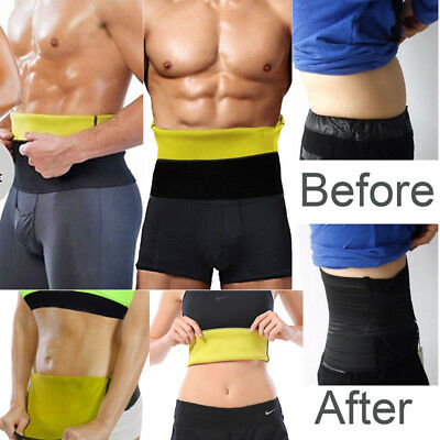 Men Women Corset Slimming Waist Trimmer Belt Body Shaper Fat Burner Beer Belly*