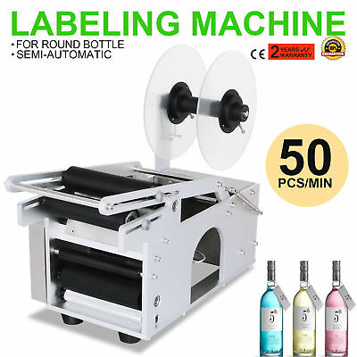 VEVOR, Round Bottle Coding and Labeling Machine with Printer New Labeller MT-50