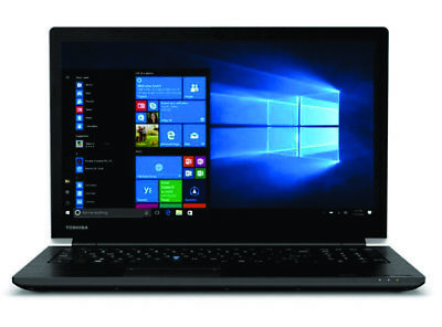 "Toshiba Tecra C50 Core i7-8550U 16GB 256GB SSD 15.6"" HD DVDRW Win10Pro Laptop"