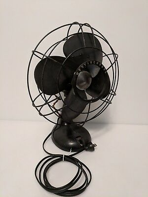 Vintage Westinghouse 4 Blade Fan No. 1229877 - 115v 60 cycle Art Deco Steampunk