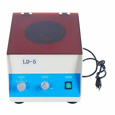 New Electric Benchtop Centrifuge LD-5 110V lab Equipment 8pcs*50ML 4000rpm
