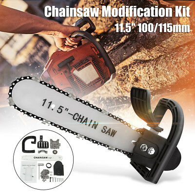 Electric Chainsaw Transfer Conversion Head Bracket Angle Grinder Attachment