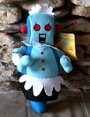 """14"""" Rosie From The Jetsons. Hanna Barbera Stuffed Robot"""