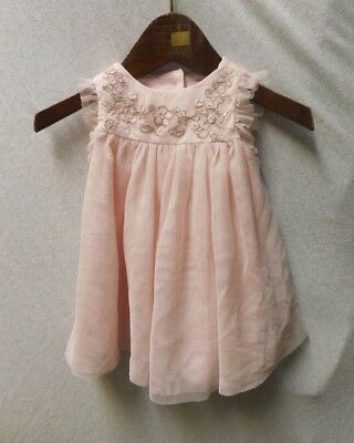 cd20982c035f Catherine Malandrino Mini Baby Girl Pink Sleeveless Tulle Dress Size 0-3  Months
