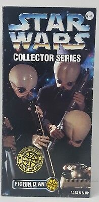 """Star Wars Collector Series A New Hope Cantina Band Figrin D'an 12"""" Figure"""