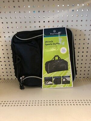 5d7bb3845b Duffle Bag 24-inch Protege Sports Gym Travel Luggage 24